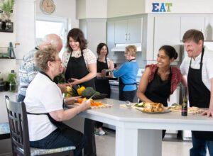 photo of lavallee health centre cooking class